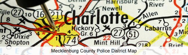 Charlotte Mecklenburg Map